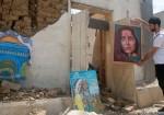 معرض فن تشكيلي على أنقاض قرية الفنون والحرف