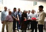 افتتاح معرض حكاية وطن في جامعة خضوري