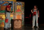 """جانب من عرض مسرحية """"ليلى الحمراء"""""""