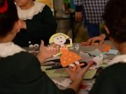 """صور: أطفال غزة يتدربون على فن """"الأنيميشن"""""""