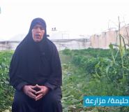 فيديو: المزارعة صباح أبو حليمة تعود لأرضها بعد الإصابة