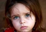 طفلة فلسطينية من غزة
