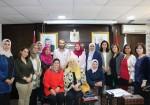 حمد تبحث زيادة مشاركة النساء في الإتحادات والنقابات