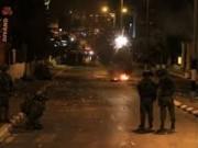 إصابة عشرات المواطنين بالاختناق بينهم طفلة في بلدة العيزرية
