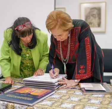 """متحف جامعة بيرزيت يطلق كتاب: """"17 غرزة تطريز"""""""