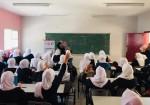 شبكة حماية تنهي حملة توعية للفتيات المراهقات