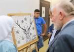 """معرض للفن التشكيلي في قلقيلية بعنوان """"القدس في العيون"""""""