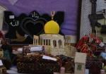 أريحا :جانب من معر ض القدس في عيون فلسطينية