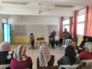 المركز الفلسطيني و FDHT ينفذان لقاءاً تقيمياً لمشروع تمكين النساء