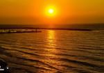 غروب شمس مدينة غزة