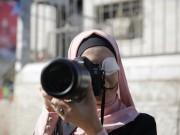 وقفة تضامنية مع الصحفي معاذ عمارنة