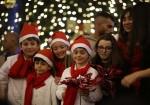 إضاءة شجرة عيد الميلاد في بيت لحم
