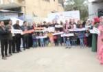 سلسلة بشرية لمناهضة العنف ضد النساء