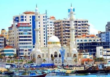 الشتاء في غزة