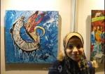 فنانون يجسدون واقع المرضى بالريشة والألوان