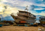 على شاطىء بحر غزة