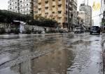 أزمة في شوارع غزة بسبب غزارة الأمطار