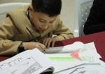مخيم تدريبي في غزة للأطفال الموهوبين في الرسم