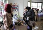 معرض للمنتجات اليدوية في طولكرم