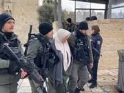 الاحتلال يعتقل سيدة بزعم محاولة تنفيذ عملية طعن في القدس