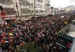 """عشرات الآلاف ينددون بـ""""صفقة القرن"""" في شوارع رام الله وغزة"""