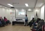 دائرة المرأة باتحاد نقابات العمال تنظم لقاء تدريبيا في نابلس