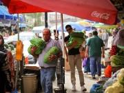 حركة التسوق في رام الله