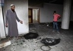 صور- مستوطنون يحرقون مسجدا في رام الله