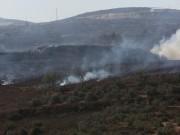 مستوطنون يحرقون عشرات أشجار الزيتون جنوب بيت لحم
