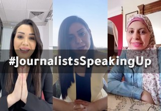 #journalistsSpeakingUp