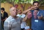 أنواع جديدة من العنب في أسواق غزة