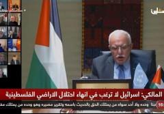 انطلاق جلسة مجلس الأمن لمناقشة رؤية الرئيس لعقد مؤتمر دولي للسلام