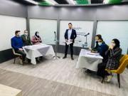 فلسطينيات تنظم مناظرة نموذجية تلفزيونية لنادي المناظرات