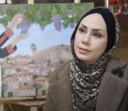 ليندا النتشة.. فنانة فلسطينية ترسم التارخ