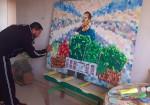 محمّد الكرنز فنان يروي حياة المخيّم بنكهة ريفية