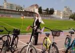 رياضة ركوب الدراجات الهوائية.. حلم رانيا الذي تحقق