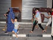 غزة: مواطنون يخلون منازلهم بسبب تهديدات الاحتلال