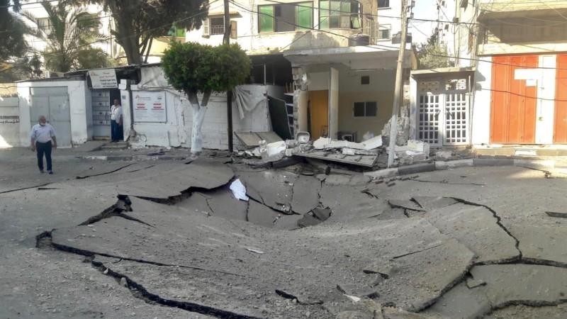 عيادة أطباء بلا حدود التي تعرضت للقصف