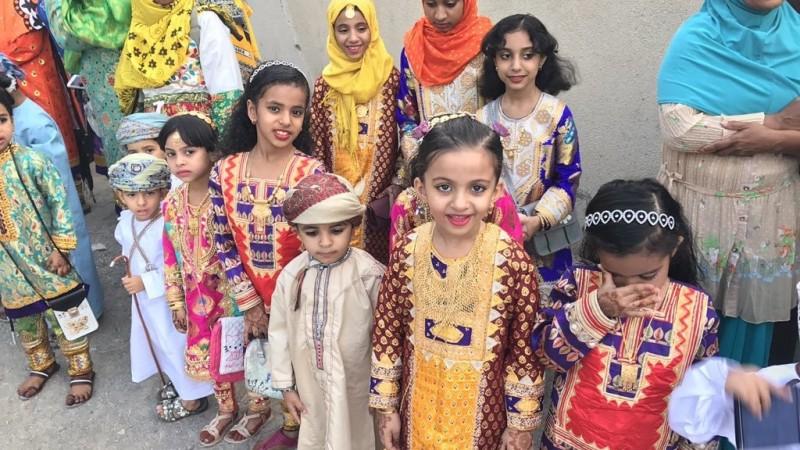 الزي العُماني التقليدي في العيد - صورة أرشيفية