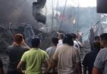 شهيد وعدة إصابات جراء انفجار عنيف قرب سوق الزاوية بمدينة غزة