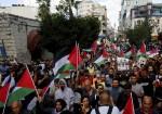 """مسيرة جماهيرية وسط رام الله اسنادا لأسرى """"جلبوع"""" الستة"""