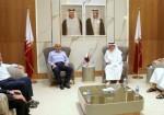 العمادي يلتقي قيادة حماس بغزة برئاسة السنوار.. هذا ما تم بحثه