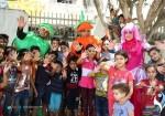 دمى متحركة تصنع الفرح لأطفال السرطان في غزة