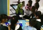"""أطفال غزة يحاكون نظريات علمية """"بالتطبيق"""""""