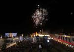 الاحتفال بإضاءة شجرة عيد الميلاد في مدينة بيت لحم
