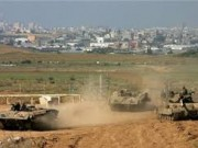 الاحتلال يتوغل شرق مخيم البريج ويجرف أراضي